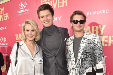Warren Elgort Premiere of Sony Pictures' 'Baby Driver' - Red Carpet