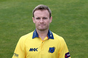 William Porterfield of Warwickshire CCC poses for a portrait in the Birmingham Bears NatWest T20 Blast kit during the photocall held at Edgbaston on April 4, 2016 in Birmingham, England.