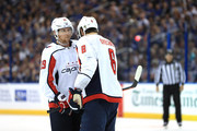 Alex Ovechkin and Nicklas Backstrom Photos Photo