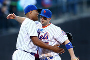 David Wright and Jeurys Familia Photos Photo