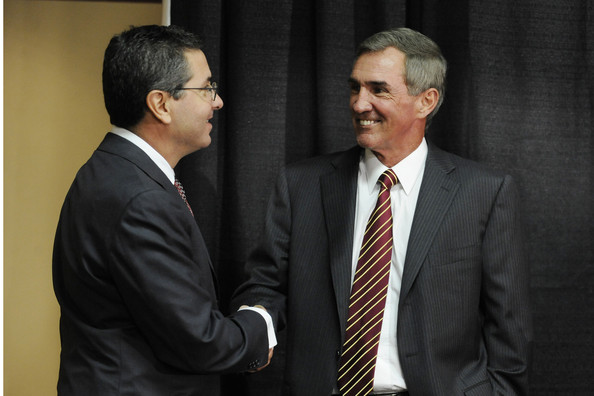 Daniel Snyder and Mike Shanahan