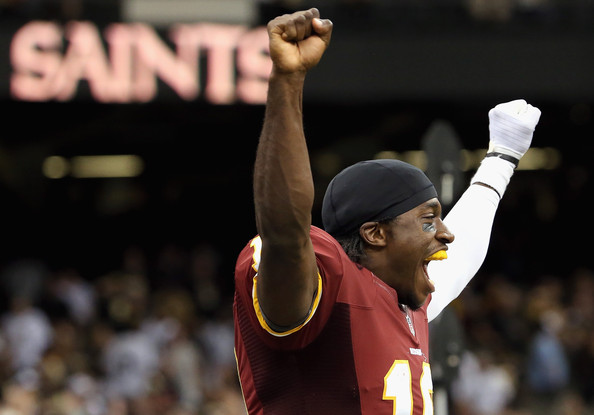 Robert Griffin III, victorious
