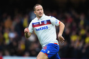 Charlie Adam of Stoke City during the Premier League match between Watford and Stoke City at Vicarage Road on October 28, 2017 in Watford, England.