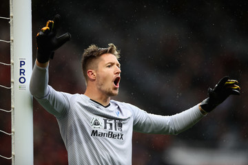 Wayne Hennessey Manchester United v Crystal Palace - Premier League