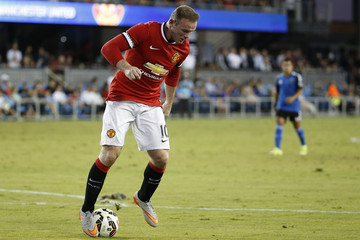 Wayne Rooney International Champions Cup 2015 - Manchester United v San Jose Earthquakes