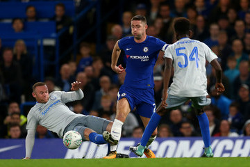 Wayne Rooney Chelsea v Everton - Carabao Cup Fourth Round