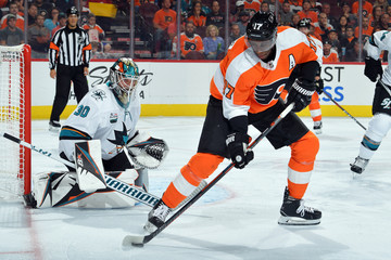 Wayne Simmonds San Jose Sharks vs. Philadelphia Flyers