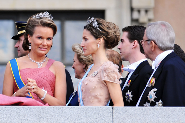 princess letizia wedding. and Crown Princess Letizia