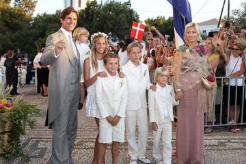 Princess Marie-Chatel Wedding of Prince Nikolaos and Miss Tatiana Blatnik - Wedding Service