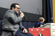 Josh Gad attends 'The Wedding Ringer' Screening in Miami at Regal South Beach on January 8, 2015 in Miami, Florida.