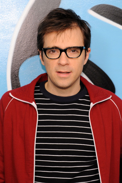 Rivers+Cuomo in Weezer Visits fuse TV's