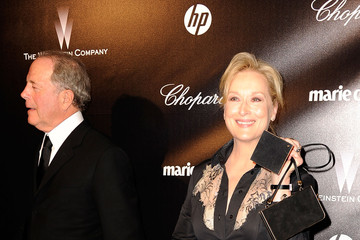 Meryl Streep Don Gummer The Weinstein Company's 2012 Golden Globe Awards After Party - Arrivals