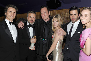 Quentin Tarantino Melanie Laurent The Weinstein Company Golden Globes After-Party - Inside