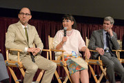 (L-R) Directors Jon Goldman, Satsuki Okawa and John Thomson, General Manager, Global Branding Department, Lexus International speak onstage during the 2nd annual Lexus Short Films 'Life Is Amazing' presented by The Weinstein Company and Lexus at LA Live on July 30, 2014 in Los Angeles, California.