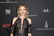 Model Bar Paly attends The Weinstein Company and Netflix Golden Globe Party, presented with FIJI Water, Grey Goose Vodka, Lindt Chocolate, and Moroccanoil at The Beverly Hilton Hotel on January 8, 2017 in Beverly Hills, California.