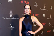 TV Personality Louise Roe at The Weinstein Company and Netflix Golden Globes Party presented with FIJI Water at The Beverly Hilton Hotel on January 8, 2017 in Beverly Hills, California.