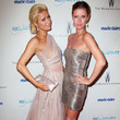 Paris & Nicky Hilton The Weinstein Company And Relativity Media's 2011 Golden Globe Awards Party - Arrivals