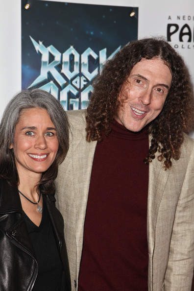 Weird Al Yankovic with cool, kind, Wife Suzanne Krajewski