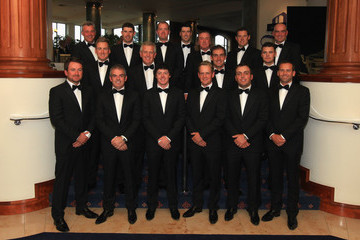 Lee Westwood Ross Fisher Welcome To Wales 2010 Ryder Cup Dinner