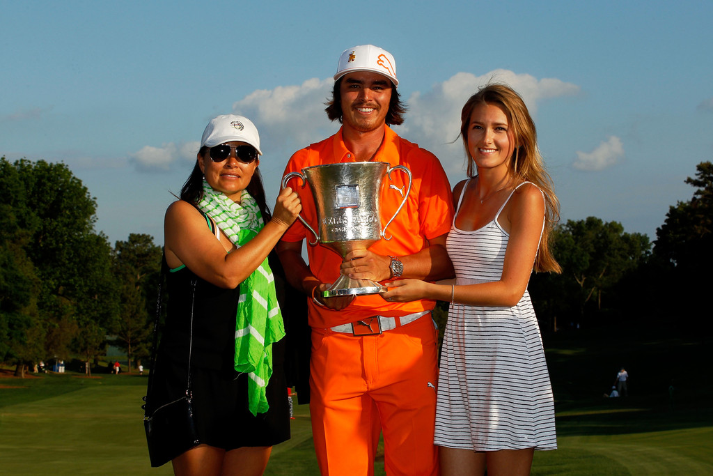 rickie fowler and lynne fowler photos photos