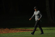 Rory McIlroy of Northern Ireland walks the 12th fairway during the first round of the 2018 Wells Fargo Championship at Quail Hollow Club on May 3, 2018 in Charlotte, North Carolina.