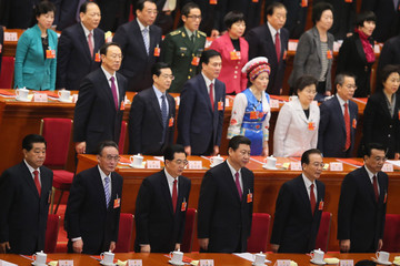 Wen Jiabao Closing Ceremony Of The National People's Congress