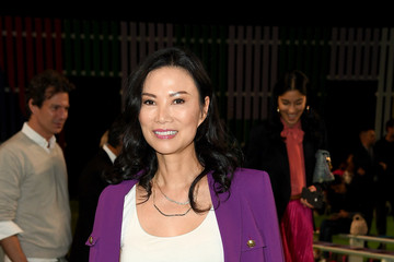 Wendi Deng Murdoch Escada - Front Row - September 2018 - New York Fashion Week