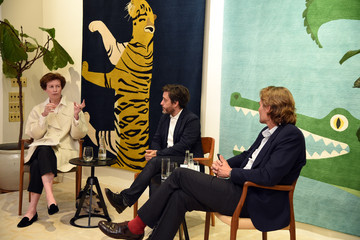 Wendy Goodman Guests at the New York Magazine and The Rug Company Event
