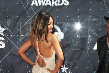 Wendy Raquel Robinson Celebs Arrive at the 2015 BET Awards