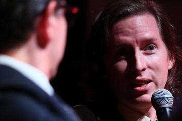 Wes Anderson Wes Anderson and Donna Tartt Meet the Audience - The 10th Rome Film Fest