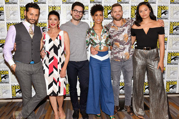 Wes Chatham Comic-Con International 2017 - 'The Expanse' Press Line