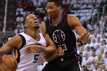 Wesley Johnson Los Angeles Clippers v Utah Jazz - Game Four