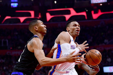 Wesley Johnson Oklahoma City Thunder v Los Angeles Clippers