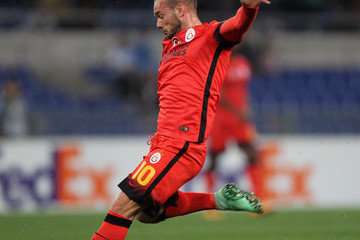 Wesley Sneijder Lazio v Galatasaray - UEFA Europa League Round of 32: Second Leg