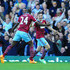 Carlton Cole Photos - Stewart Downing of West Ham celebrates scoring their first goal with Carlton Cole of West Ham during the Barclays Premier League match between West Ham United and Everton at Boleyn Ground on May 16, 2015 in London, England. - West Ham United v Everton - Premier League