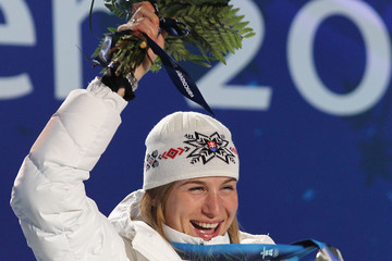 Anastazia Kuzmina Whistler Medal Ceremony - Day 5