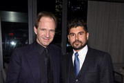 """Director Ralph Fiennes and producer Andrew Levitas attend """"The White Crow"""" New York Premiere after party at Rooftop At Pier 17 on April 22, 2019 in New York City."""