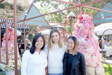 Whitney Port Lily Goh Biossance's Miracle On Melrose