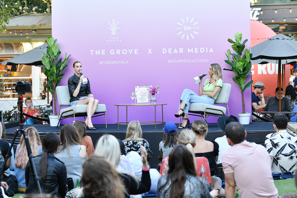 Whitney Port And Kaitlyn Carter  Appearance At The Grove For A Live Podcast Taping