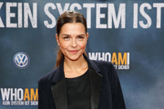 Susan Hoecke attends the premiere of the film 'Who am I' at Zoo Palast on September 23, 2014 in Berlin, Germany.