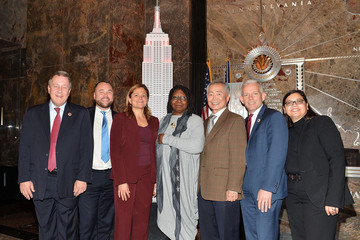 Whoopi Goldberg Whoopi Goldberg And George Takei Light The Empire State Building In Honor Of World AIDS Day