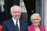 Jonathan Pryce and Glenn Close attend the UK Premiere of 'The Wife' at Somerset House on August 9, 2018 in London, England.