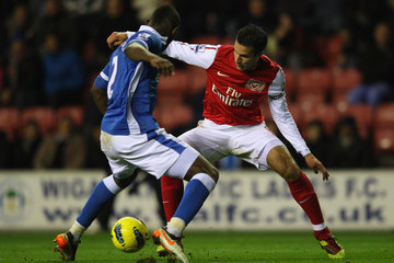 Steve Gohouri Wigan Athletic v Arsenal - Premier League