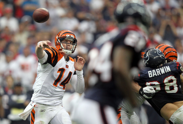 Andy Dalton. Photo by Jamie Squire/Getty Images