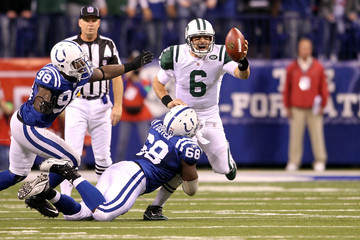 Eric Foster Wild Card Playoffs - New York Jets v Indianapolis Colts