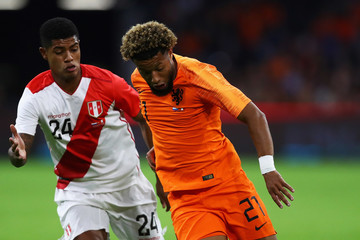 Wilder Cartagena Netherlands vs. Peru - International Friendly
