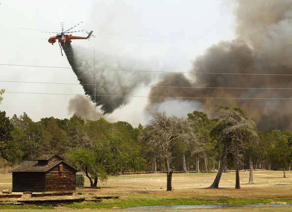 Wildfires Devastate Drought-Stricken Central Texas