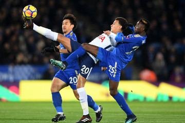 Wilfred Ndidi Leicester City v Tottenham Hotspur - Premier League