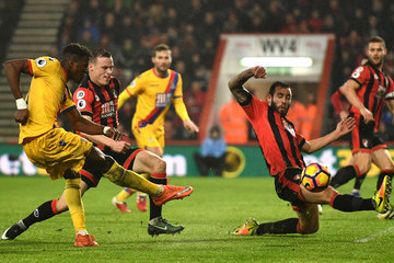 Wilfried Zaha AFC Bournemouth v Crystal Palace - Premier League