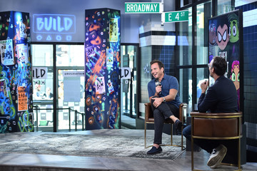 Will Arnett Celebrities Visit Build - July 10, 2018